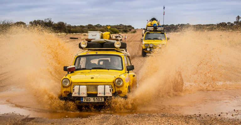Trans-Trabant Expedition